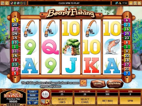 Spin Palace - Bearly Fishing Slot